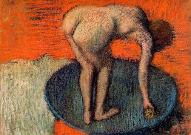Эдгар Дега - В тазу (1900)