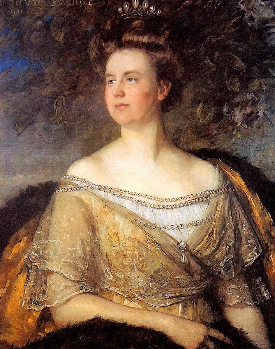 Queen Wilhemina, Therese Schwartze