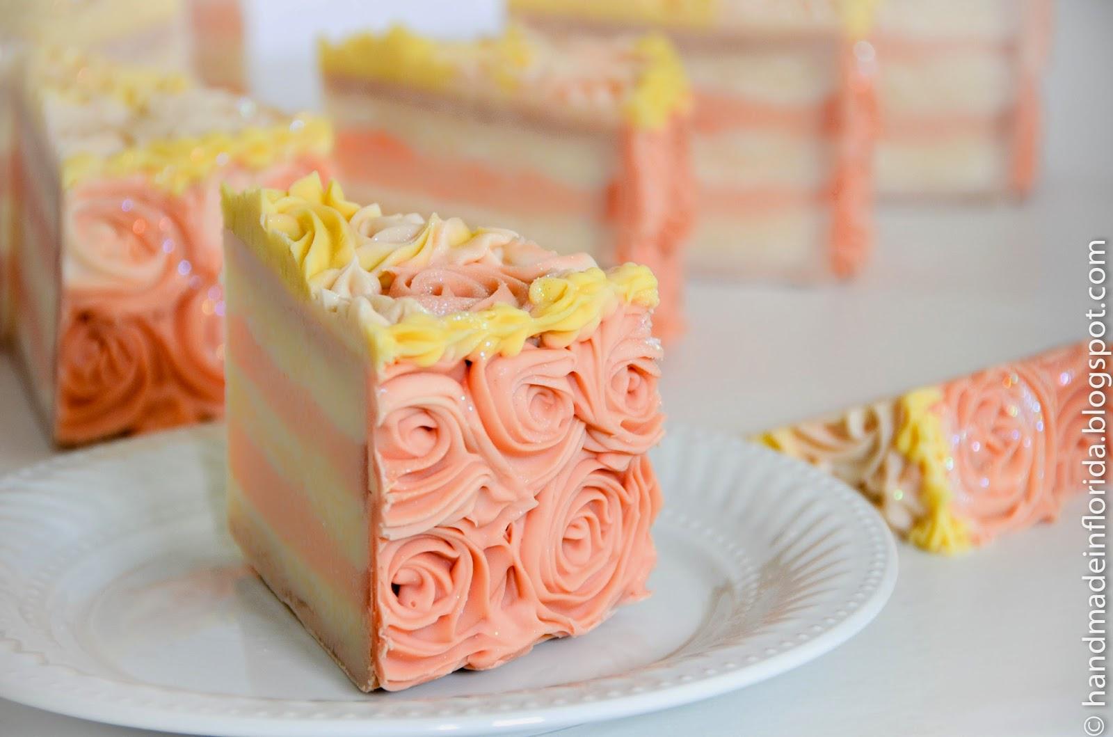 Cold Process Soap Cake Recipe