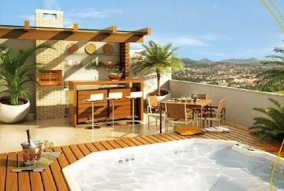 Foto de terraza decorada
