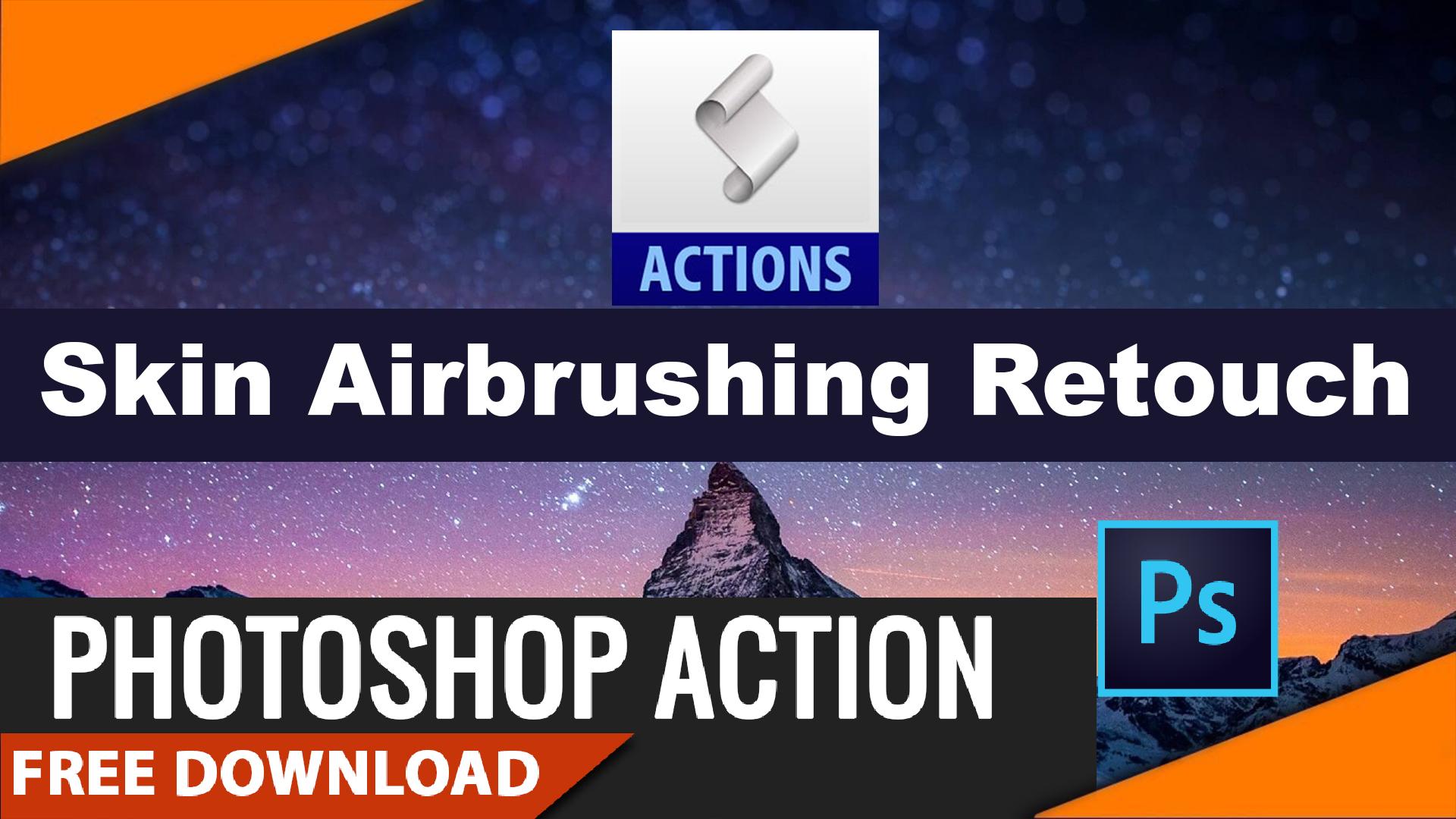 Skin airbrushing magic retouch