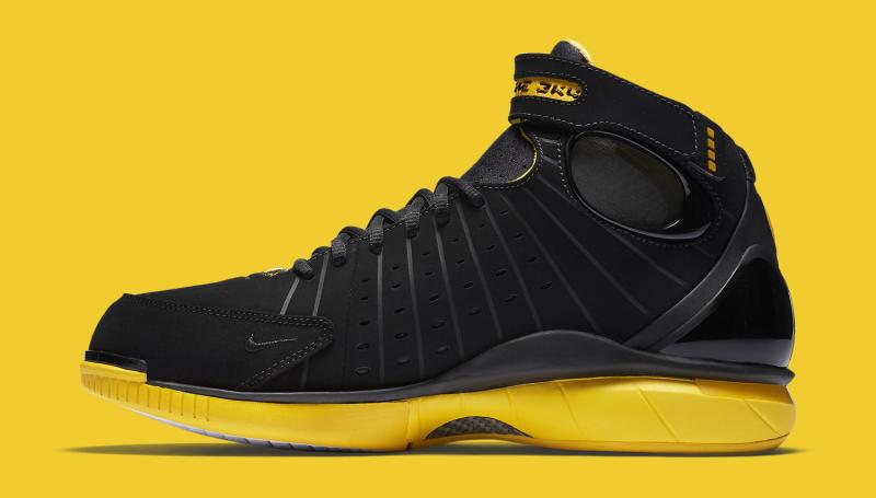de30da2c6719 Nike Huarache 2K4 Black and Yellow