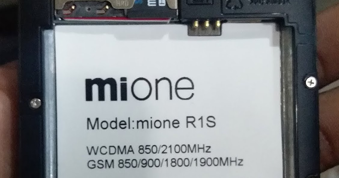 Mione RS1 Flash File Firmware | MT6580 6 0 Fix Hang Logo