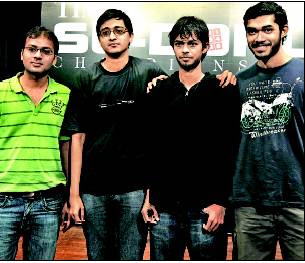 Indian Sudoku Championship-Mumbai Winners