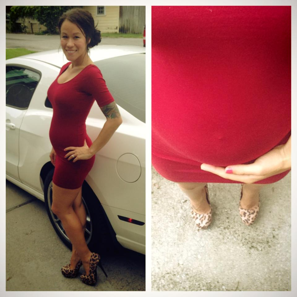 43e34599d14 Diary of a Fit Mommy  Date Night Pregnancy Fashion
