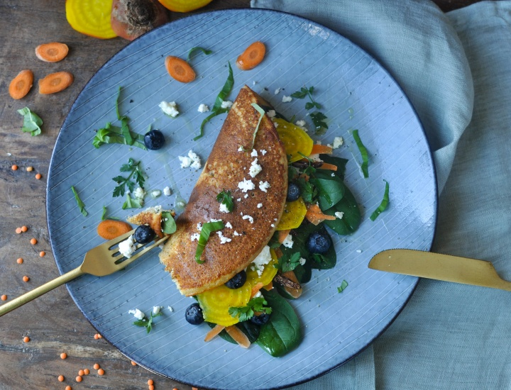 healthy and delicious: gluten free lentil pancakes
