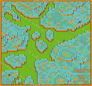 七龍珠Z2激神第十一章地圖