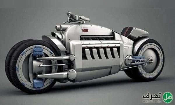 أسرع دراجة نارية في العالم
