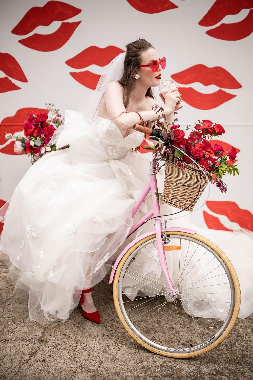 pixel punk brisbane bridal boutique bouquet