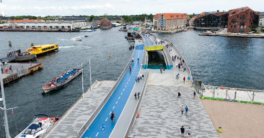 Copenhagen's Fantastic & Stupid Bicycle Bridge Inderhavnsbro