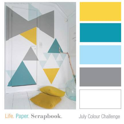 Today We Have A Color Challenge For You At Life Paper Sbook With Some