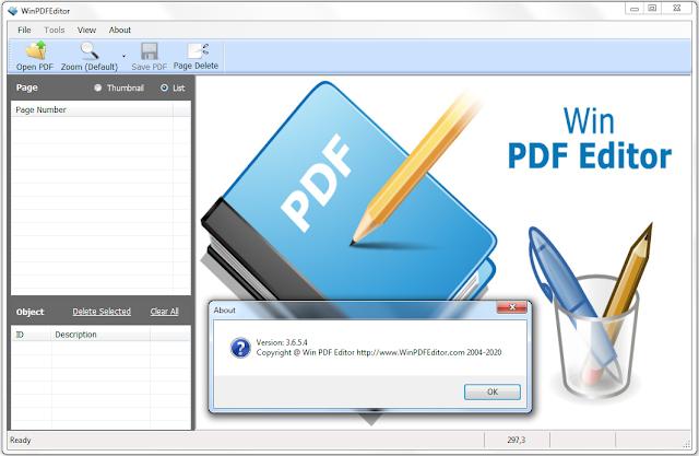 Screenshot Win PDF Editor 3.6.5.4 Full Version