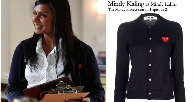 what she wore mindy kaling on the mindy project s01e02 in