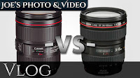 Canon EF 24-105 f/4L II IS USM Lens - Original & Mark II Comparison | Vlog