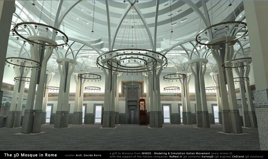 Corsi di interior design mimos presenta la moschea di - Corsi di interior design roma ...