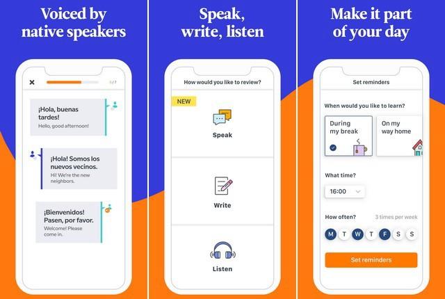 افضل تطبيقات لتعلم اللغات للايفون