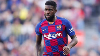 Barcelona has no offer for Samuel Umtiti: there's risk of letting him leave for free