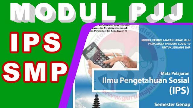 Download Modul PJJ IPS Kelas 7 SMP Semester 2 (GENAP)
