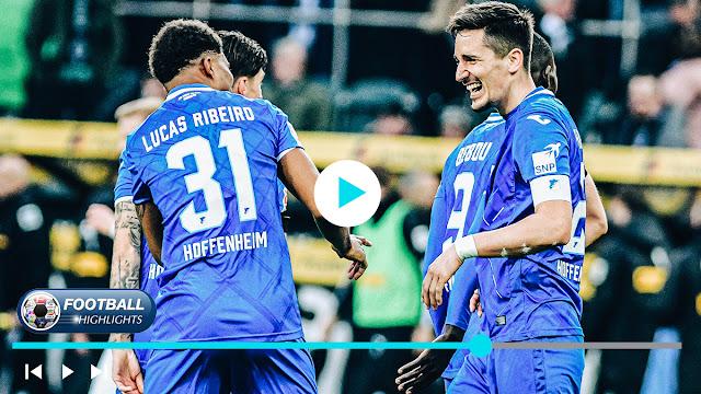 Borussia M'gladbach vs Hoffenheim – Highlights