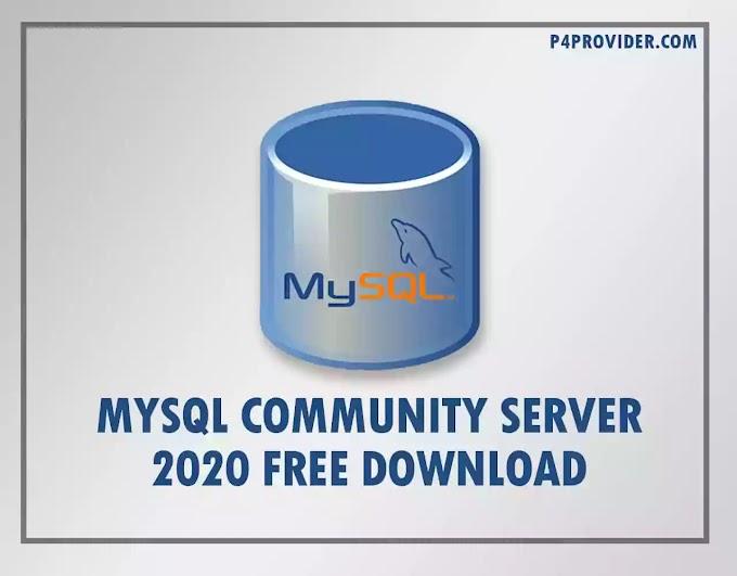 MySQL Community Server 2020 64-Bit Download for Free