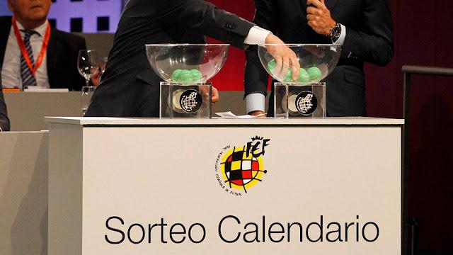 sorteo calendario de LaLiga 20/21