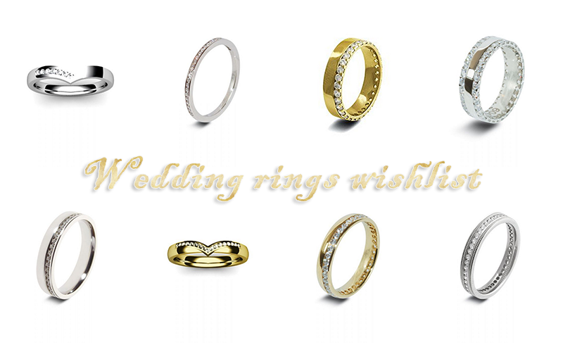 Wedding rings wishlist