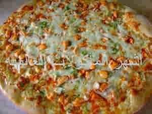 بيتزا بصدور الدجاج