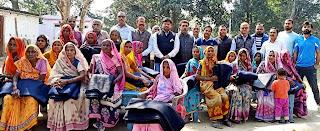 भारत विकास परिषद ने वितरित किया कम्बल    #NayaSaberaNetwork