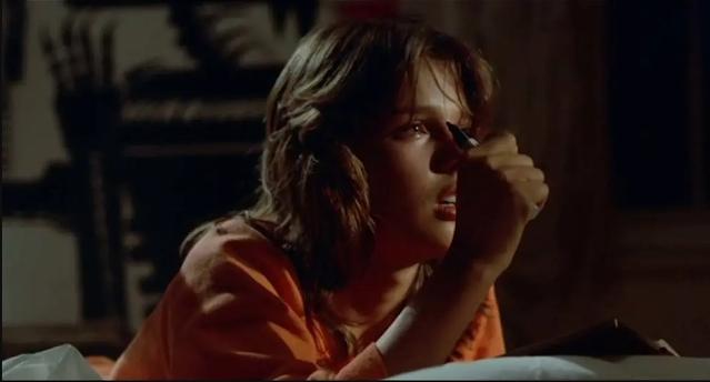 Simone (Désirée Nosbusch) di film The Fan (1982) yang tergila-gila dengan penyanyi pop bernama R (Bodo Staiger)