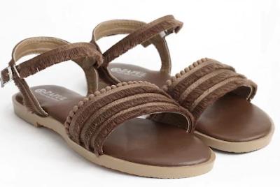 sandals, sandale, brown, smeđe, stylish, cute, summer, ljeto, shoes, cipele, obuća, fringe