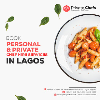 """Jake Adebayo's SkillPatron Launches an """"on-demand' Personal & Private Chef For Hire Service in Africa 4"""