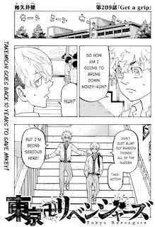 Read Tokyo Revengers Manga Chapter 209 English