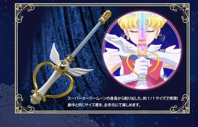 Imágenes de la PROPLICA Kaleido Moon Scope de Sailor Moon Eternal - Tamashii Nations