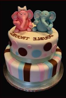 torta baby shower pannolini