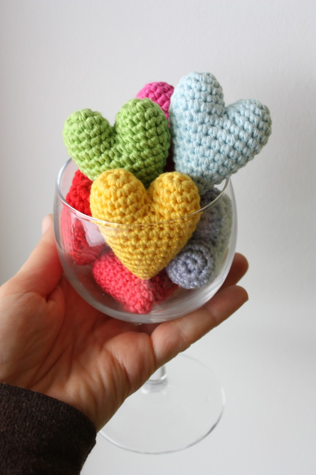 Amigurumi Heart Tutorial : HAPPYAMIGURUMI: Preparations for Valentine?s Day: Crochet ...