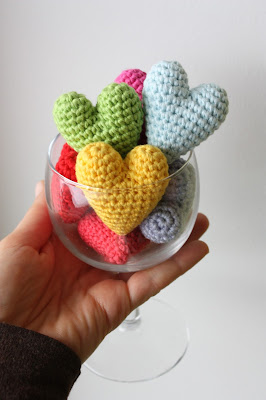 HAPPYAMIGURUMI: Preparations for Valentine?s Day: Crochet ...
