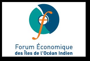 Forum Économique de l'Océan Indien : création de logotype, graphique designe