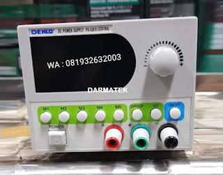 Darmatek Jual DEKKO PS-326-S DC Power Supply Dekko PS-326S - 32 Volt 6 Ampere
