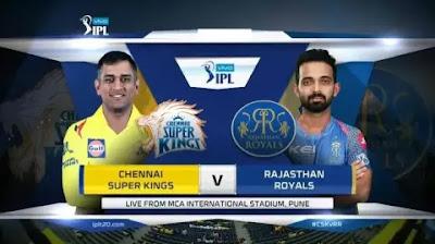 IPL सीजन 2020 मे राजस्थान रॉयल्स का पहला मैच CSK से