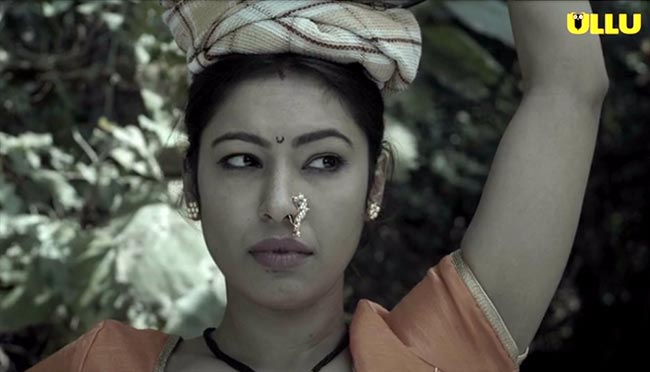 Riri Riwaj Water Wives actress Ankita Bhattacharya as Maya Ullu App