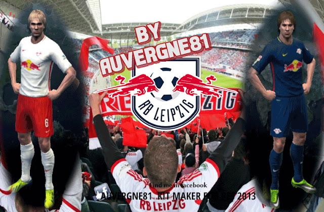 PES 2013 RB Leipzig 2016-2017 Kits by AUvergne81