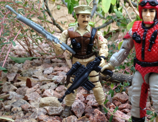 1986 Mission to Brazil, Leatherneck, Marine, Toys R Us Exclusive, 1987 Crazylegs