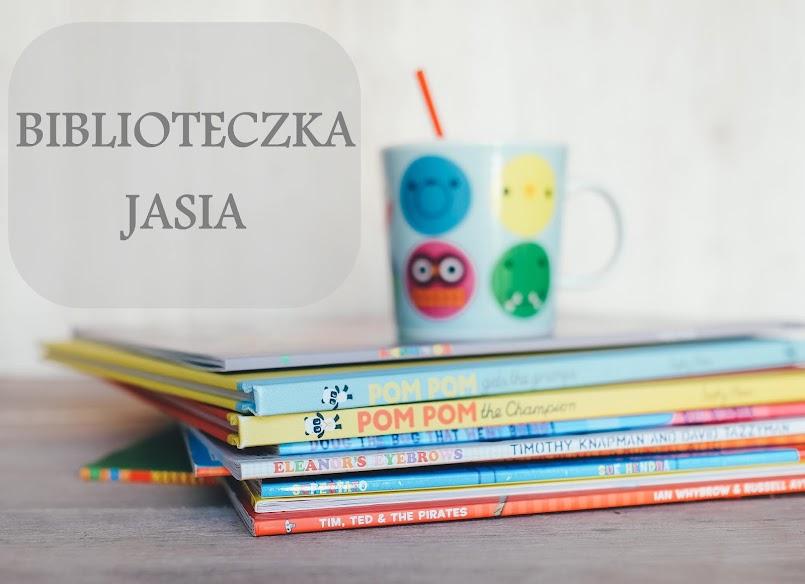 Biblioteczka Jasia #8: książki wydawnictwa Adamada