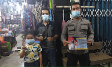 Suasana Lebaran, Polisi Ajak Warganya Untuk Menjaga Kesehatannya Dan Tetap Selalu Pakai Masker