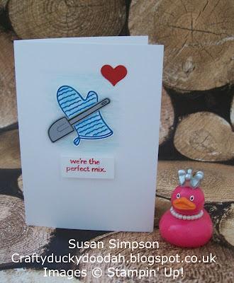 Stampin' Up! UK Independent Demonstrator Susan Simpson, Craftyduckydoodah!, Perfect Mix, Supplies available 24/7,