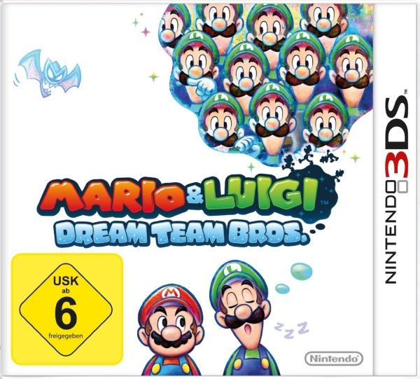 3ds And Cias Mario Luigi Dream Team Eur Usa