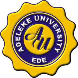 Adeleke UniversitySchool Fees 2018
