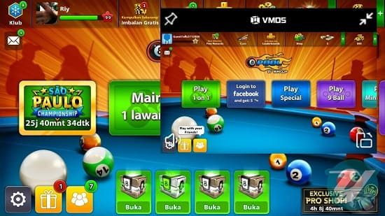 Transfer Coin 8 Ball Pool di Android