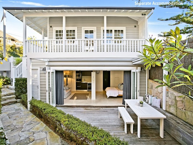 Stunning hamptons style beach house in collaroy desire for Hampton style homes