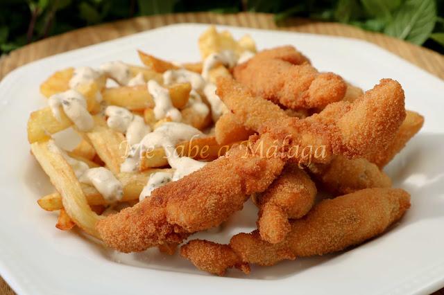 receta lagrimitas de pollo